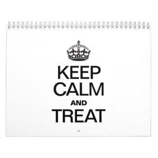 KEEP CALM AND TREAT CALENDARS