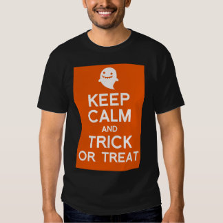 Keep calm and Trick or treat halloween t-shirt