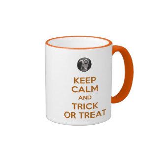 Keep Calm and Trick or Treat Mug