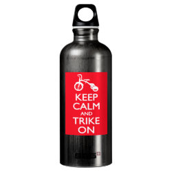 SIGG Traveller Water Bottle (0.6L) with Keep Calm and Trike On design