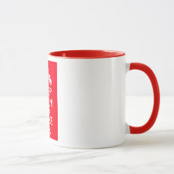 Combo Mug with Keep Calm and Trike On design
