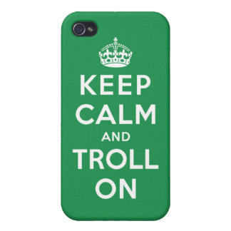 Keep Calm and Troll On Case For iPhone 4