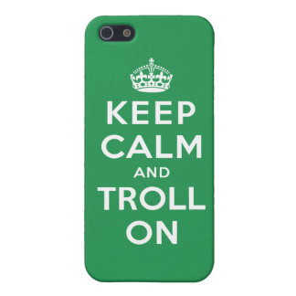Keep Calm and Troll On Cover For iPhone SE/5/5s