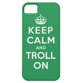 Keep Calm and Troll On iPhone SE/5/5s Case