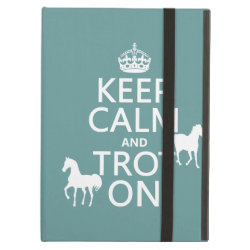 iPad Air Powis Case with Keep Calm and Trot On design