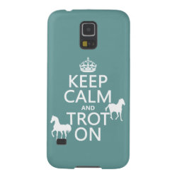 Case-Mate Barely There Samsung Galaxy S5 Case with Keep Calm and Trot On design