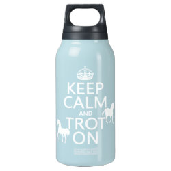 SIGG Thermo Bottle (0.5L) with Keep Calm and Trot On design