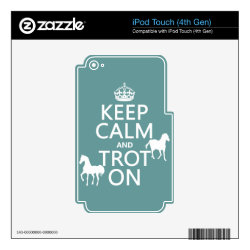 iPod Classic (80/120/160GB) Skin with Keep Calm and Trot On design