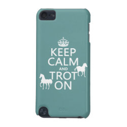 Case-Mate Barely There 5th Generation iPod Touch Case with Keep Calm and Trot On design