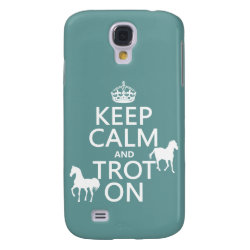 Case-Mate Barely There Samsung Galaxy S4 Case with Keep Calm and Trot On design