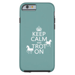 Case-Mate Barely There iPhone 6 Case with Keep Calm and Trot On design