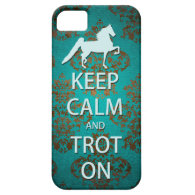 Keep Calm and Trot On Saddlebred iPhone 5 Case
