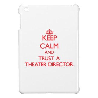 Keep Calm and Trust a aater Director iPad Mini Cover