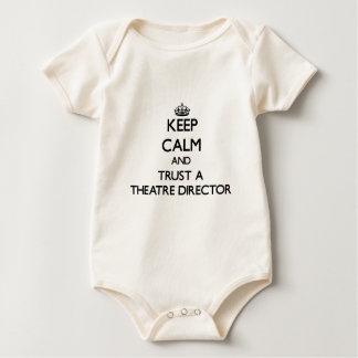 Keep Calm and Trust a aatre Director Baby Bodysuit