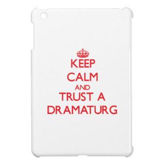 Keep Calm and Trust a Dramaturg iPad Mini Cases