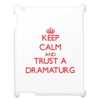 Keep Calm and Trust a Dramaturg iPad Cases