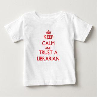 Keep Calm and Trust a Librarian Tshirts