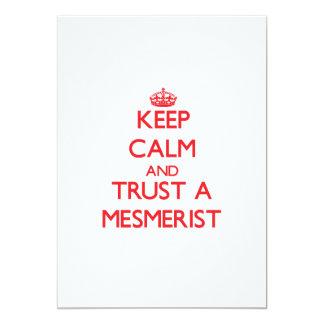 "Keep Calm and Trust a Mesmerist 5"" X 7"" Invitation Card"