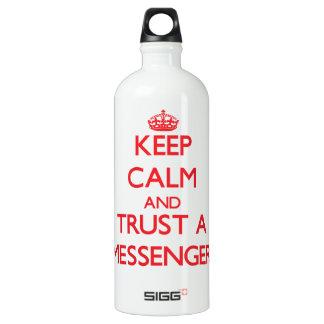 Keep Calm and Trust a Messenger SIGG Traveler 1.0L Water Bottle