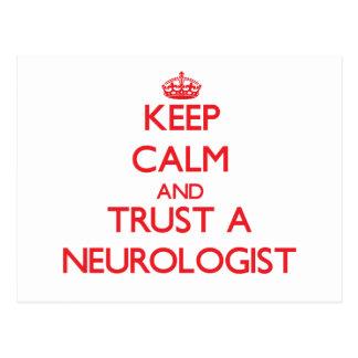 Keep Calm and Trust a Neurologist Postcard