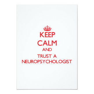 Keep Calm and Trust a Neuropsychologist Personalized Invitation