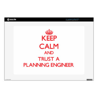 Keep Calm and Trust a Planning Engineer Decal For Laptop