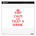Keep Calm and Trust a Shrink Skins For The MacBook Air