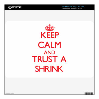 Keep Calm and Trust a Shrink Skin For MacBook Air