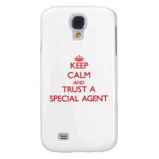 Keep Calm and Trust a Special Agent HTC Vivid Cases