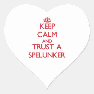 Keep Calm and Trust a Spelunker Sticker