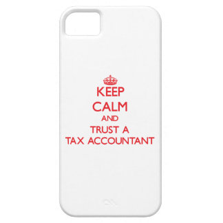 Keep Calm and Trust a Tax Accountant iPhone 5 Covers