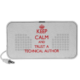 Keep Calm and Trust a Technical Author iPhone Speaker