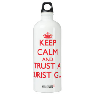 Keep Calm and Trust a Tourist Guide SIGG Traveler 1.0L Water Bottle