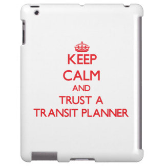 Keep Calm and Trust a Transit Planner