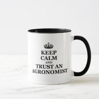 Keep calm and trust an Agronomist Mug