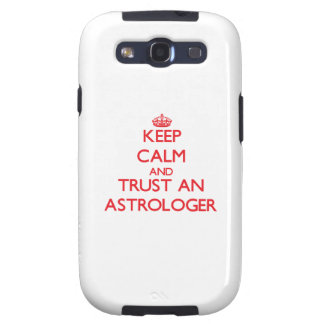 Keep Calm and Trust an Astrologer Samsung Galaxy SIII Cases