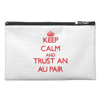 Keep Calm and Trust an Au Pair Travel Accessory Bags