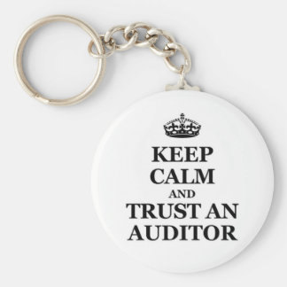Keep calm and trust an auditor keychain