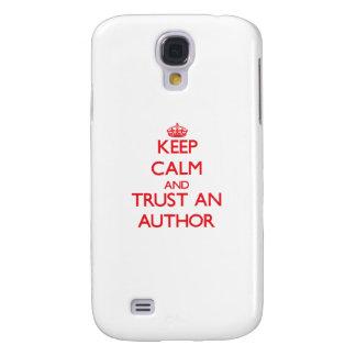 Keep Calm and Trust an Author HTC Vivid / Raider 4G Cover