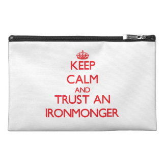 Keep Calm and Trust an Ironmonger Travel Accessories Bags