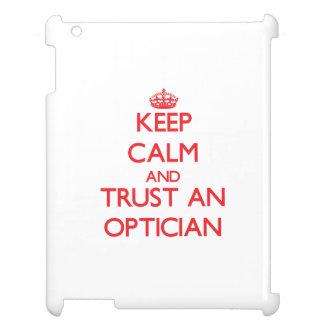 Keep Calm and Trust an Optician iPad Cover