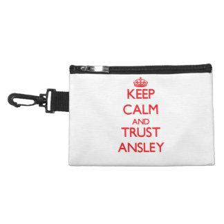 Keep Calm and TRUST Ansley Accessory Bags