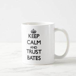 Keep calm and Trust Bates Coffee Mug