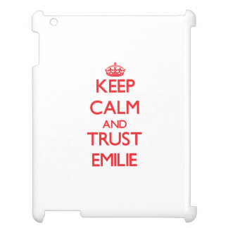 Keep Calm and TRUST Emilie Case For The iPad 2 3 4