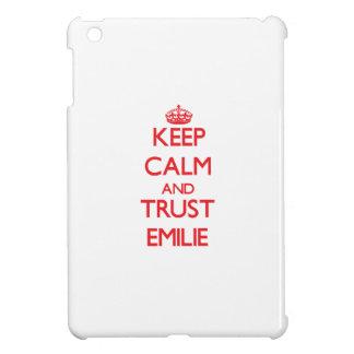 Keep Calm and TRUST Emilie iPad Mini Cover