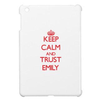 Keep Calm and TRUST Emily iPad Mini Covers