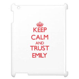 Keep Calm and TRUST Emily iPad Case