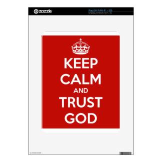 Keep Calm and Trust God Skin For The iPad