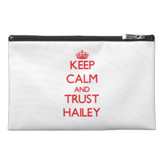 Keep Calm and TRUST Hailey Travel Accessory Bags