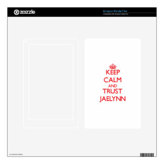 Keep Calm and TRUST Jaelynn Skin For Kindle Fire